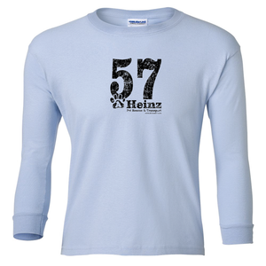 YOUTH: 57 Full Front Long Sleeve T - 3 Colors