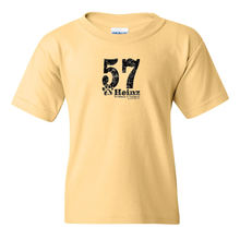 YOUTH: 57 Full Front Short Sleeve T - 5 Colors