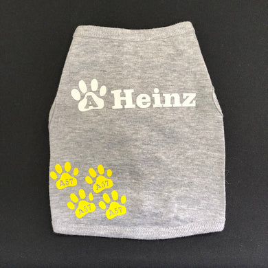 Dog Shirt in Heather Gray S - 3XL Sizes