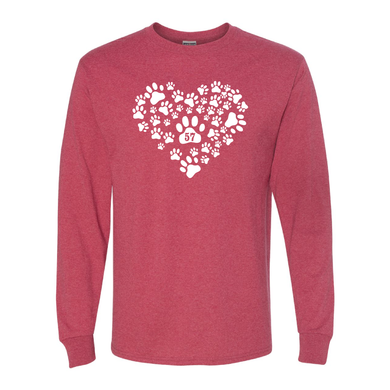 Heart of Paws Long Sleeve T-Shirt
