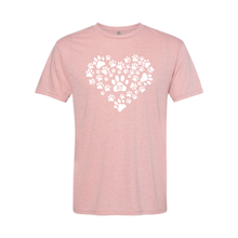 Heart of Paws Short Sleeve T-Shirt
