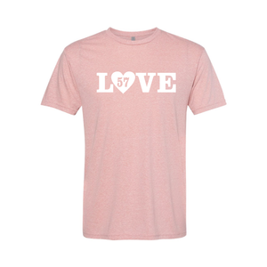 LOVE (w/ Paw Print or Heart) Short Sleeve T-Shirt