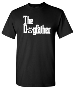 """The Dogfather"" Unisex Short Sleeve T-Shirt"