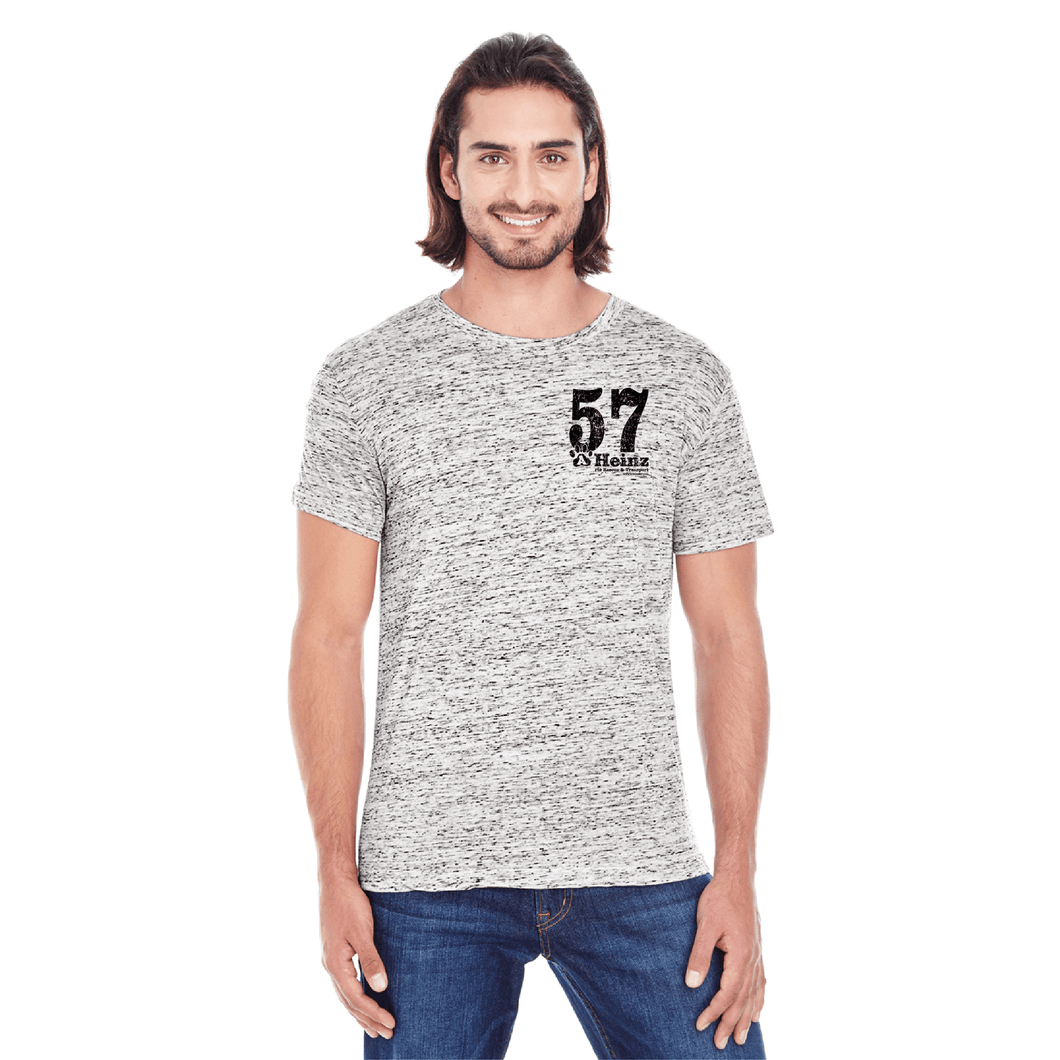 Black 57 Left Chest Short-Sleeve T