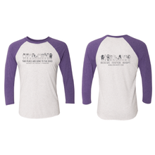 PRE-ORDER UNTIL 7/15/20 - This Place Has Gone To The Dogs - 3/4 Sleeve Raglan Tee