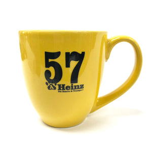 AHeinz57 Yellow 12 oz. Ceramic Coffee Mug
