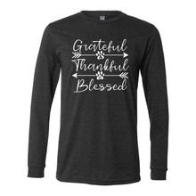 "A57 ""Grateful, Thankful, Blessed"" Long Sleeve Tee"