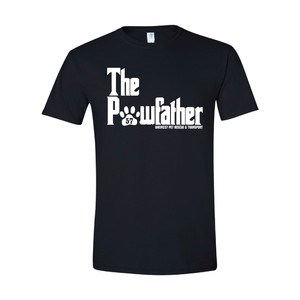 """The Pawfather"" Unisex Short Sleeve T-Shirt"