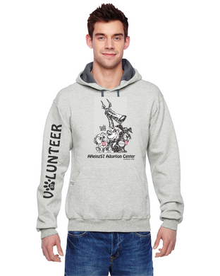 NEW!!! Adoption Center VOLUNTEER HOODIE S - 3XL