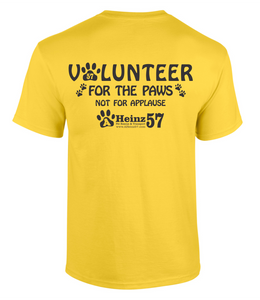 NEW!!! Adoption Center VOLUNTEER Tee S - 5XL