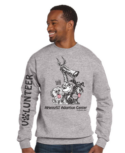 NEW!!! Adoption Center VOLUNTEER Sweatshirt S - 5XL