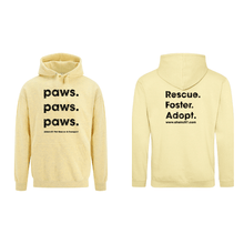Paws. Paws. Paws. Hoodie 6 colors PRE-ORDER THRU OCT. 4TH