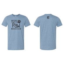Stressed Blessed and PAW Obsessed Tee - 3 Color Options