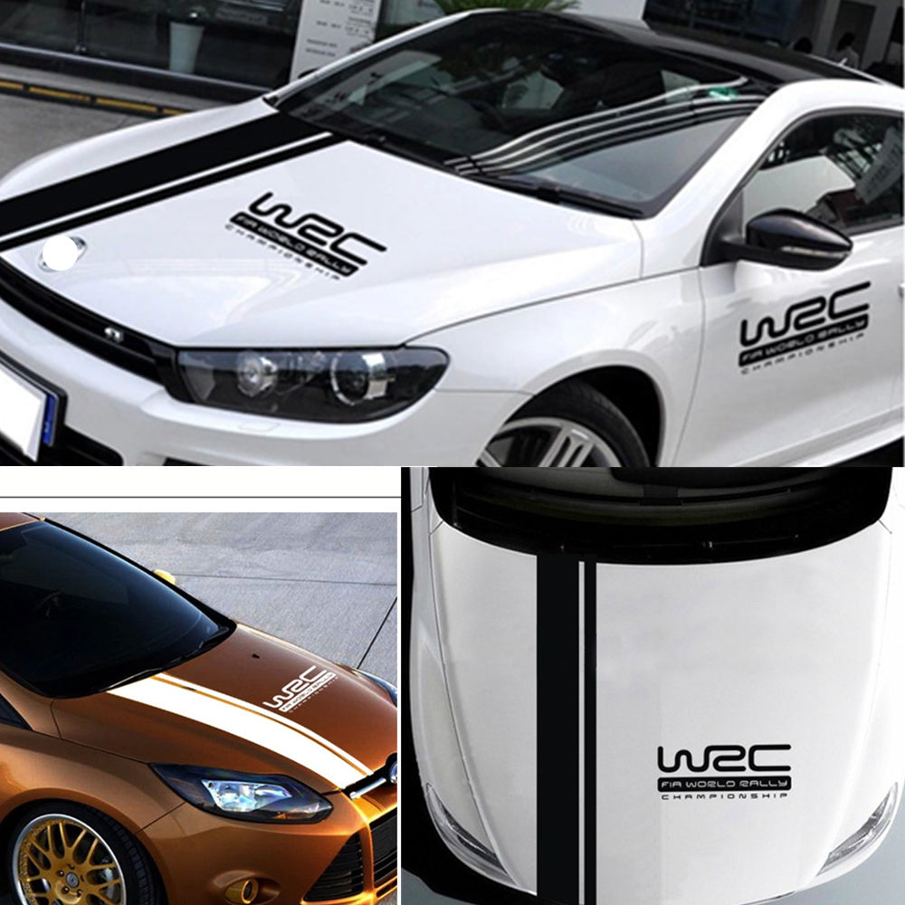 2pcs car styling car stickers wrc car body for vw volkswagen golf 5 6 7