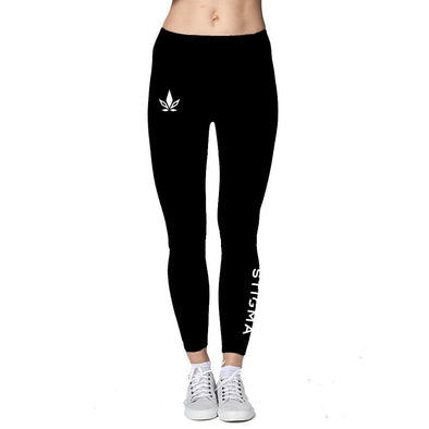 Combed Spandex Leggings-Legging-XS-Stigma-Cannabis Clothing Apparel