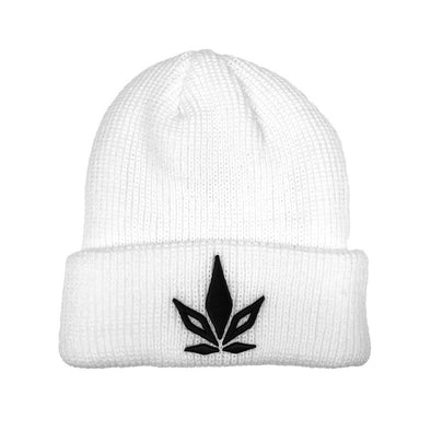 Stigma Beanie-Beanie-White-Stigma-Cannabis Clothing Apparel