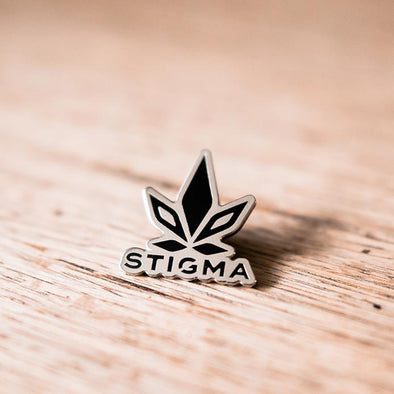 Stigma Collectors Pin-Black-Stigma-Cannabis Clothing Apparel