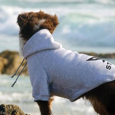 Stigma Dog Hoodie-Sweater-XS-Grey-Stigma-Cannabis Clothing Apparel