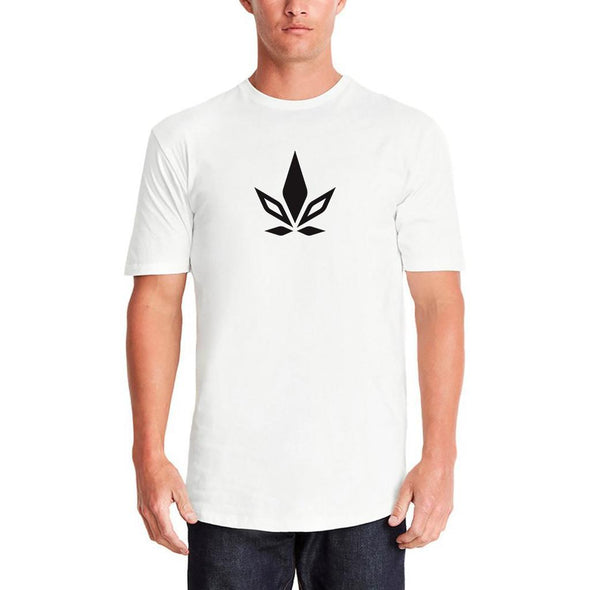 Stigma Long Body Crew-Shirt-S-White-Stigma-Cannabis Clothing Apparel