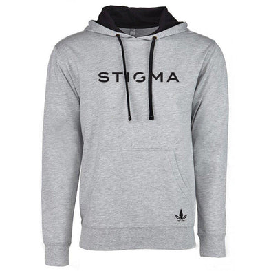 Unisex Hoodie-Sweater-XS-Heather Grey-Stigma-Cannabis Clothing Apparel