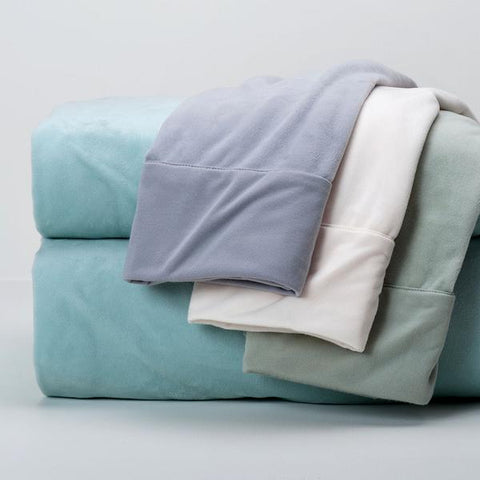 Berkshire Blanket UltraLight Fleece Sheet Set