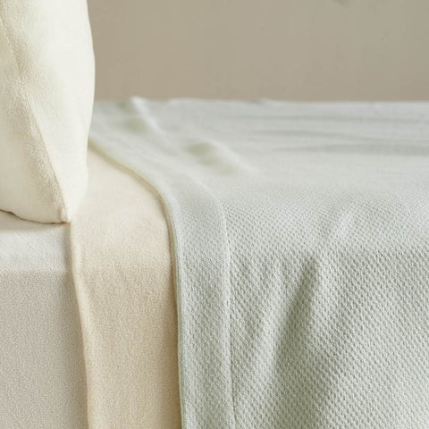 Dual Spun Cotton Blanket