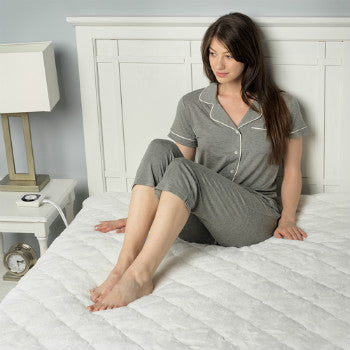 Heated Mattress Pad with Dual Controllers