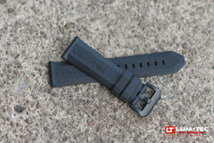 The Original Lüm-Tec OEM Rubber Strap with PVD Buckle