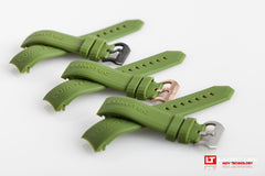 Combat B/RR Series/400M Green Rubber Strap