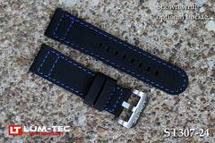 Lake Erie Blue Stitch Rubber