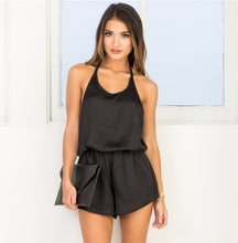 Load image into Gallery viewer, Silky Halter Playsuit