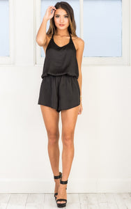 Silky Halter Playsuit