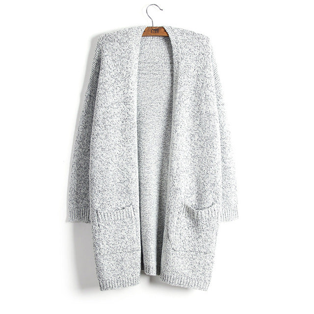 'No more grey skies' grey cardigan ***PRE-ORDER***