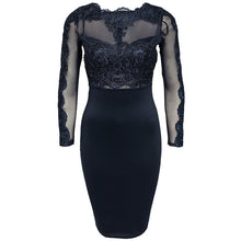 Load image into Gallery viewer, 'Midnight Blue' Lace Dress