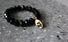 Load image into Gallery viewer, Stack bracelets - Black Onyx faceted beads