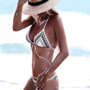Striped Wheat-Arrow Bikini ***PRE-ORDER***