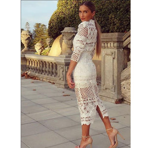 'Shades of Lace' Midi