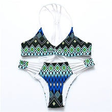 Load image into Gallery viewer, Printed Racerback Bikini ***PREORDER***