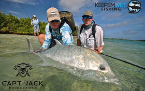 Captain Jack Productions partners with Keep Em Wet Fishing