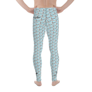 Capt Fly Collab Men's Leggings (Blue)