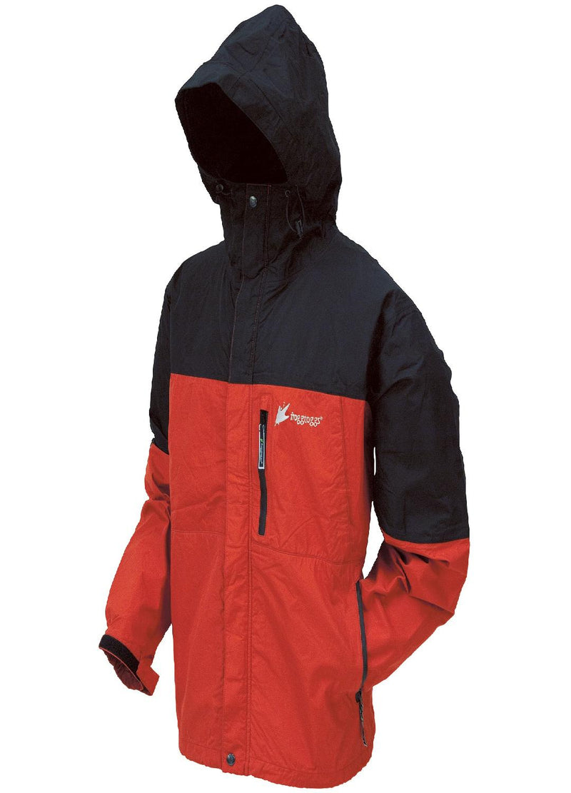 Frogg Toggs Youth Toad Rage Jacket Red-Black - Medium