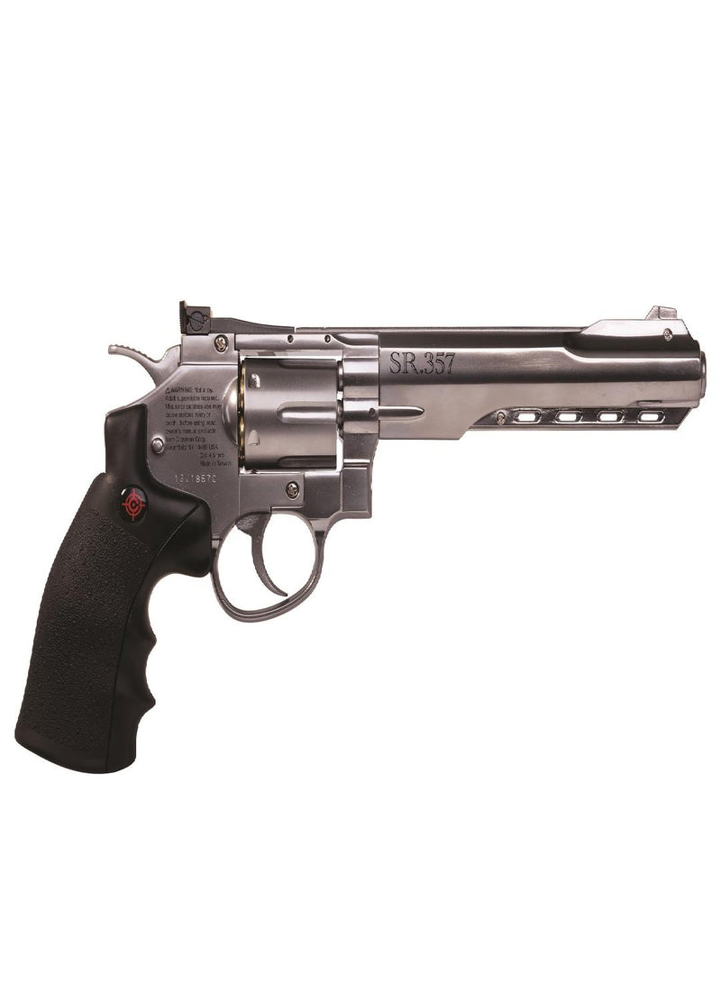 Crosman 357 CO2 BB Pistol Silver