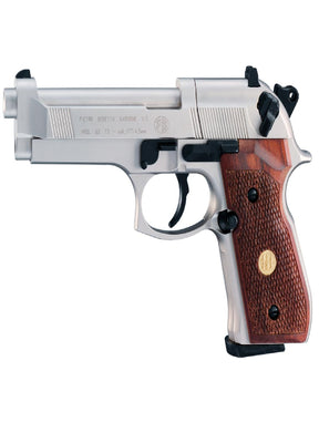 Beretta M 92 FS Air Gun 8 Shot Rotary Nickel-Wood