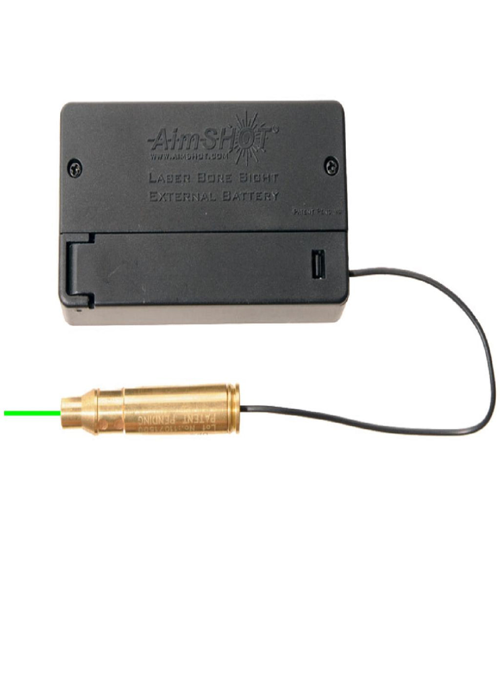 AimSHOT BSB223G Green Laser Bore Sight .223 w- Battery Box