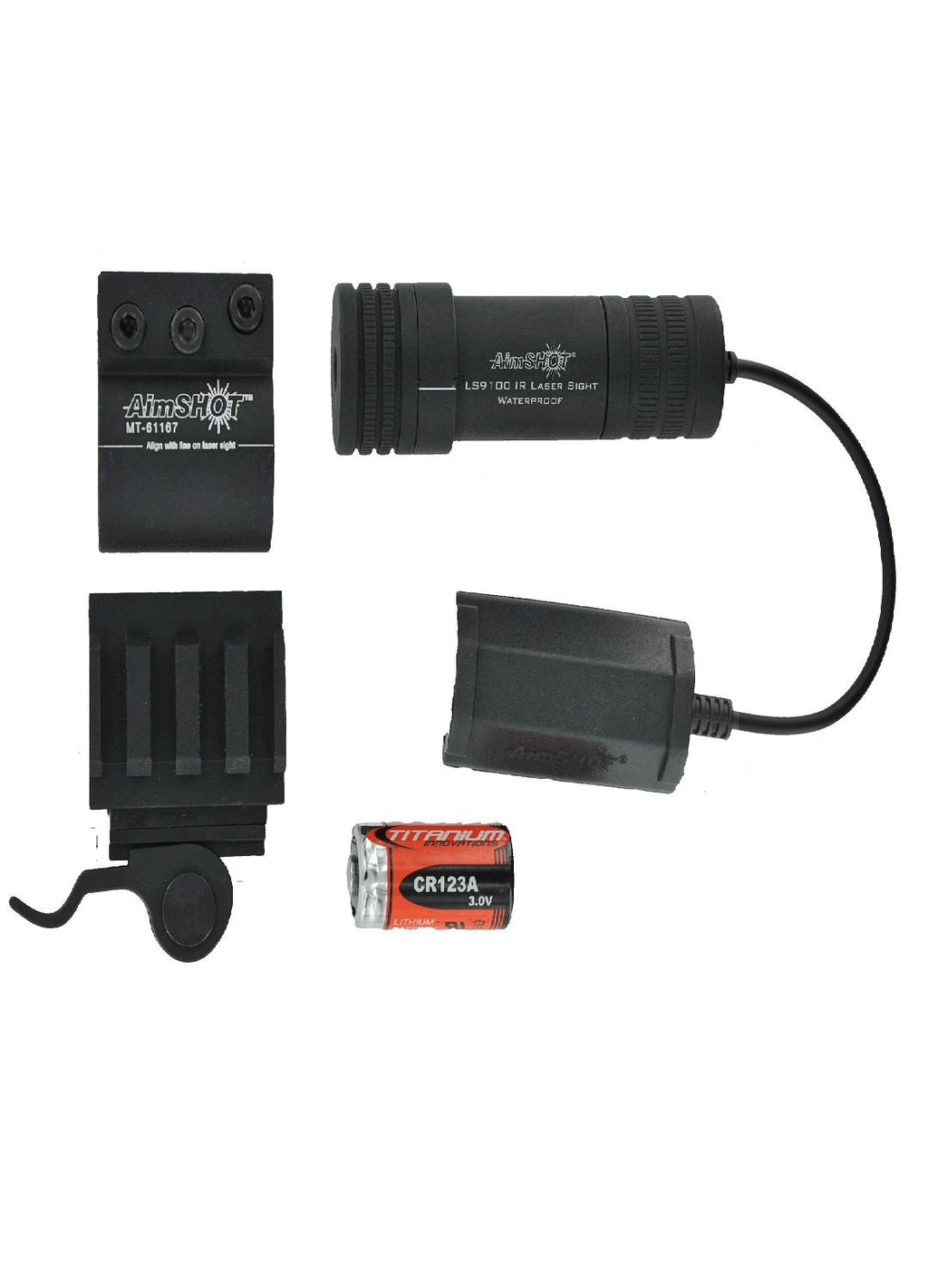 AimSHOT KT9172 Infrared Laser Sight Kit  w-QR Rail Mount