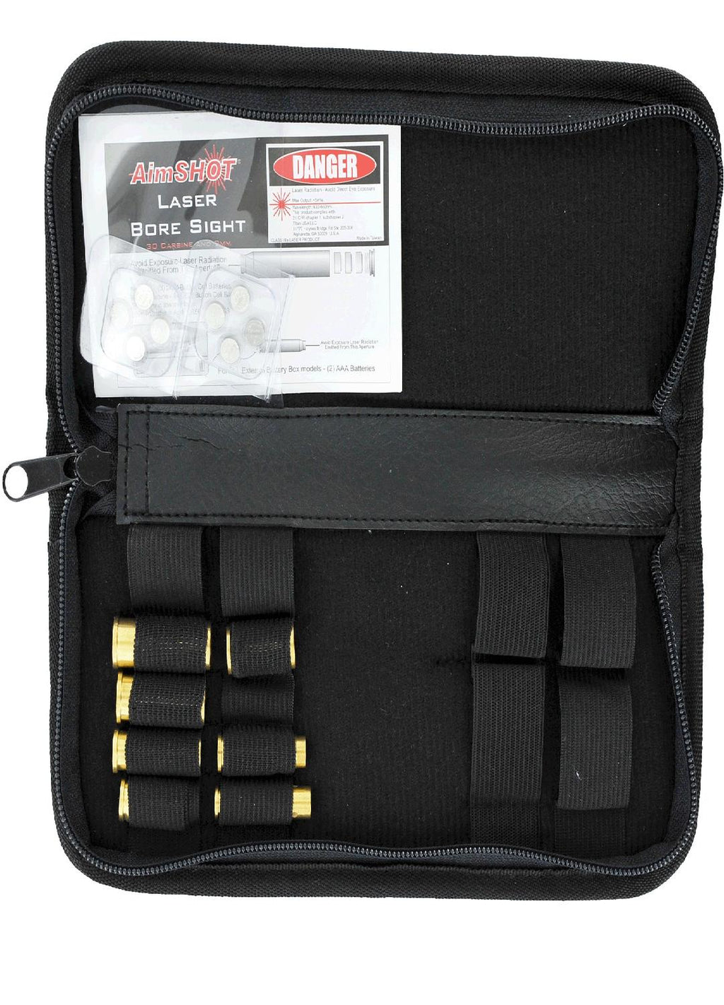 AimSHOT KT-Pistol Pistol Laser Bore Sight Kit Most Calibers