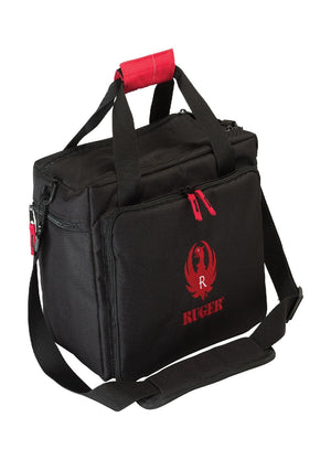 Allen Ruger Range Bag-Black-Red