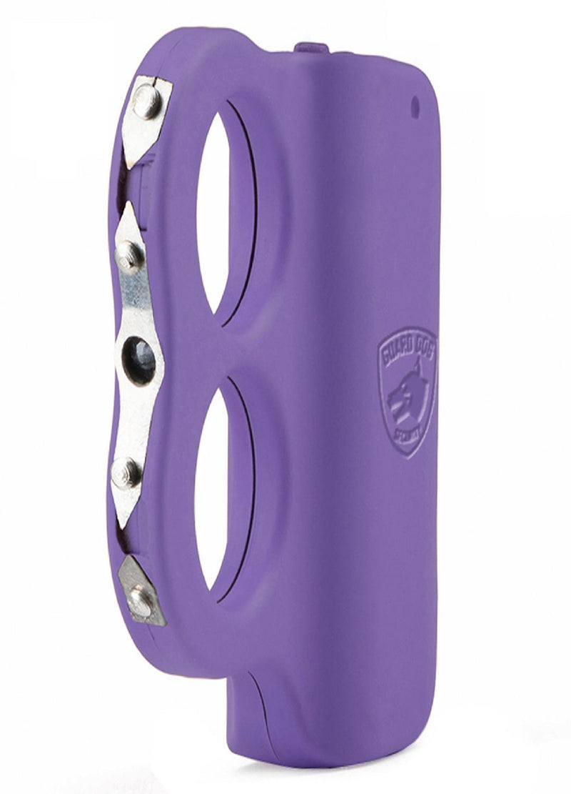 Guard Dog Dual LED Grip To Stun Gun - Rechargeable - Purple