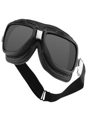 Bobster Pilot Aviator Goggles-Interchange Smoked-Clear Lens