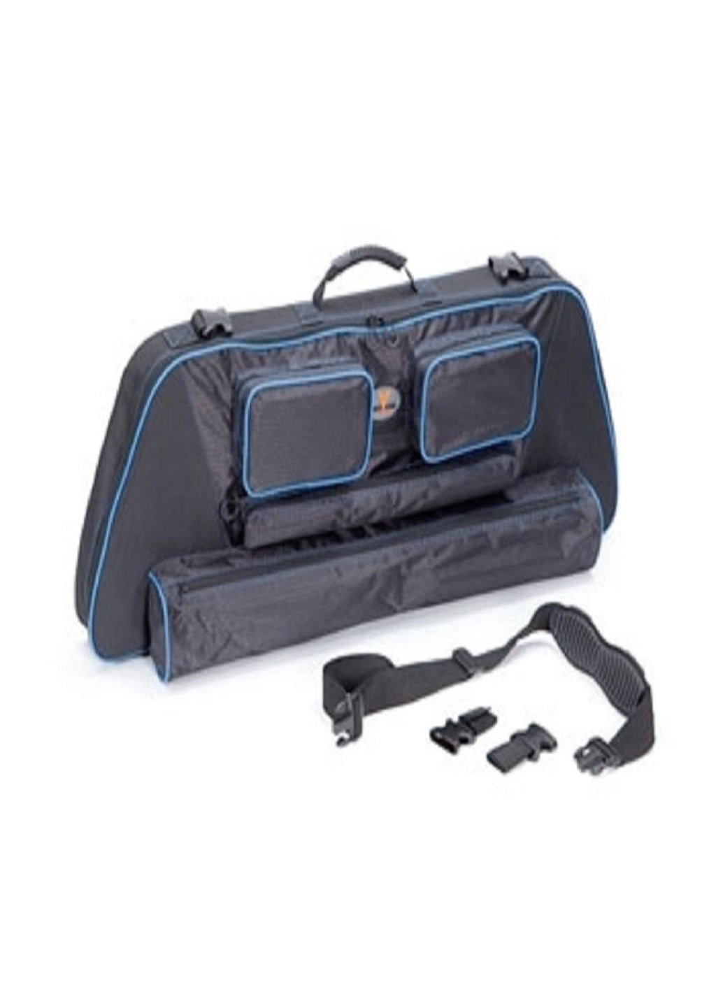 ".30-06 Outdoors 41"" Slinger Bow Case System w-Blue Accent"